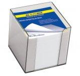 Бокс пластиковий з білим папером, 90х90х90мм, прозорий, димчастий (BM.2290-02)