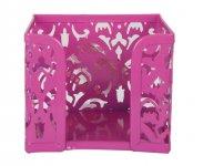 Бокс для паперів, BAROCCO, металевий, рожевий (BM.6216-10)