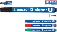 Маркер перманентный D-signer U (Швейцария),  7371001PL