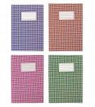 Зошит канцелярський, А4, 48 арк., клітинка, офсет, картонна обкладинка, асорті (BM.2450-хх)