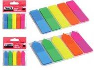 Закладки пластиковые AXENT (стрелка) с клейким слоем,  2440-02-А