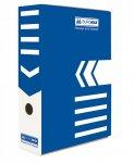 Бокс для архівації документів, 100 мм, синій (ВМ.3261-02)