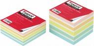 Папір для нотаток 90х90х40 мм, не склеєний. Асорті кольорів. Щільність 70 г/м2. (8026-А)