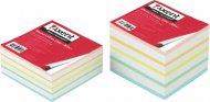 Папір для нотаток 90х90х40 мм, не склеєний. Асорті кольорів. Щільність 70 г/м2. (8016-А)