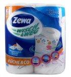 Полотенца бумажные  ZEWA Wisch & Weg , белые с рисунком (29315)