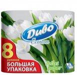 Бумага туалетная ДИВО ЭКОНОМ  (Обухов) белая (30155)