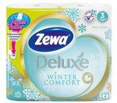Бумага туалетная ZEVA DELUXE, белая (30680)