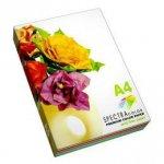 Набор цветной бумаги А4 SPEСTRA COLOR Light (пастель)  80г/м2,  250 листов.
