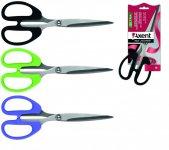 Ножиці офісні серії Ultra. Пластикові ручки. Довжина 19см. Колір: асорті. Упаковка: відкритий блістер. (6211-xx-А)