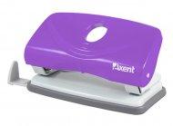 Дырокол WELLE 2 (Axent), пластиковый, нэон фиолетовый, 10 листов, (3811-11-А)