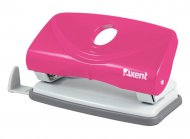 Дырокол WELLE 2 (Axent), пластиковый, нэон розовый, 10 листов, (3811-10-А)
