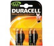 Эл.питания (батарейка) DURACELL, LR3 (АAA), 4шт упаковка, (s.52543)