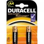 Эл.питания (батарейка) DURACELL, LR6 (AA), 2шт упаковка, (s.58163)
