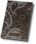 Блокнот Persia А5, 80 арк., клетка, O20350-01 (чорный)