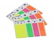 Закладки Buromax пластиковые 3х40л NEON 45x12мм+42x12мм (BM.2308-98)
