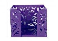 Бокс для бумаг Buromax Barocco металлический фиолетовый (BM.6216-07)