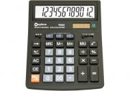 Калькулятор настольный бухгалтерский Optima, 12 разрядный, (O75525)