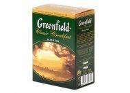 Чай черный Greenfield CLASSIC BREAKFAST, black tea, list, 100 гр