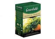 Чай зеленый Greenfield  TROPICAL MARVEL, green tea, list, 100 гр