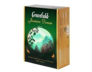 Чай зеленый Greenfield JASMINE DREAM, green tea, 100 пак.