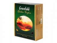Чай черный Greenfield GOLDEN CEYLON, black tea, 100 пак