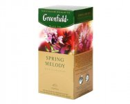 Чай черный Greenfield SPRING MELODY, black tea, 25 пак.
