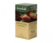Чай черный Greenfield STRAWBERRY GOURMET, tea,  25 па