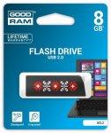 Flash Drive Goodram CL!CK 8 GB UKRAINE, Black (UCL2-0080K0R11-L )