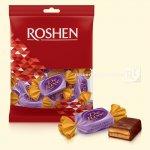 Цукерки Roshen De Luxe бісквіт з м'якою карамеллю 135г (0146068 )