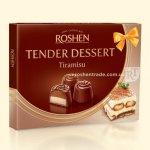 Цукерки Roshen Tender Dessert Tiramisu 120г  (0146501 )