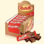 Вафельні батончики Roshetto Dark chocolate 32г  (0145624 )