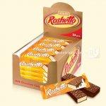 Вафельні батончики Roshetto Milk chocolate 32г  (0145623 )