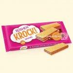 Вафлі Roshen KROCK з начинкою какао 142г  (0146124 )