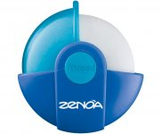 Ластик ZENOA у поворотному захисному футлярі (MP.511320-хх)