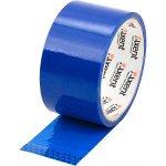 Лента клейкая упаковочная синяя, ширина 48 мм, длина 35 м. Толщина 40 мкм.Упаковка - запайка .  3044-02-A