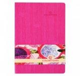 Блокнот деловой COLOR TUNES А5, 96л., чистый, обложка искусственная кожа, розовый   BM.295000-10