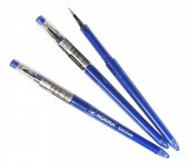 Ручка гелевая, 0.5 мм, синяя, Gelios, 342, NORMA
