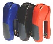 Степлер пластиковый, до 25 л., 24/6-26/6, 55 мм, ассорти,  4047, NORMA