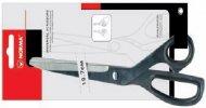 Ножницы офисные, цельнометаллические,  19,7 см, универсальные,  4237, NORMA
