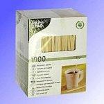 Мешалка деревянная ЭКО  14 см, 1000 шт в картонной упаковке, (20уп/я)   12012