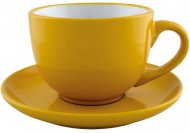 Набор чайный керамический VENA Economix promo 250мл, желтый (E98311-05)