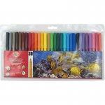 Фломастеры 7710ET, 30 цветов, полиэтиленовая упаковка (7710et/30)