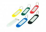 Брелок для ключей 60х20мм, 50 шт., картонная коробка, ассорти (BM.5473-99)