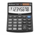 Калькулятор Brilliant BS-208, 8 разрядов (BS-208)
