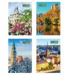 Книга канцелярская «Города. Сезоны» JOBMAX, А4, 96 листов, клетка (2408)