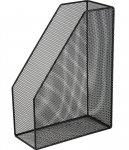 Лоток для бумаг вертикальный BUROMAX, металлический, черный (BM.6260-01)