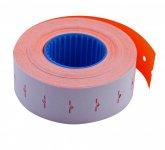 Цінник 22*12мм (1000шт, 12м), прямокутний, внутрішня намотка, помаранчевий (BM.281101-11)