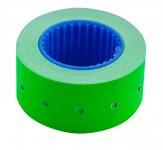 Цінник 22*12мм (500шт, 6м), прямокутний, зовнішня намотка, зелений (BM.282101-04)