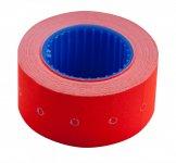 Цінник 22*12мм (500шт, 6м), прямокутний, зовнішня намотка, червоний (BM.282101-05)