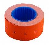 Цінник 22*12мм (500шт, 6м), прямокутний, зовнішня намотка, помаранчевий (BM.282101-11)